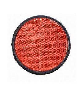 Zijreflector plak rond rood