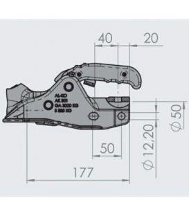 AL-KO Kogelkoppeling AK 301 Profi Ø50mm