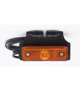 Zijmarkeringslamp Radex LED op steun naar achteren.