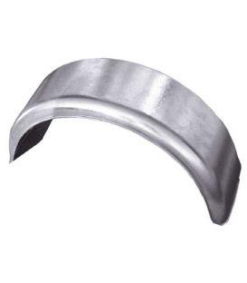 """Spatscherm staal 2-zijde rond 10"""""""