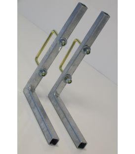 Accukist montagemateriaal (2x bevestigingssteun koker enz.)
