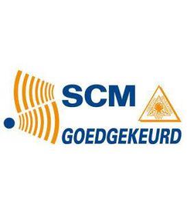 SCM goedgekeurd.